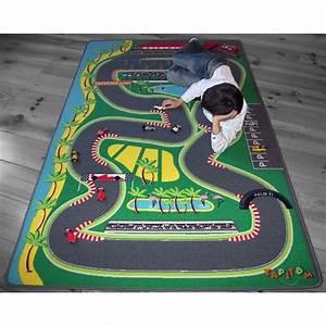 Tapis De Voiture Enfant : tapis de jeu formule 1 pour chambre d 39 enfant par tapitom ~ Teatrodelosmanantiales.com Idées de Décoration