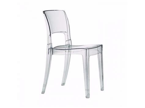 chaise en polycarbonate isy polycarbonate chair by scab design design roberto semprini