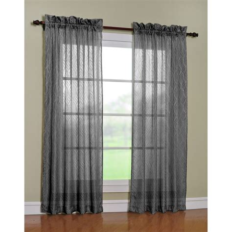 Sheer Curtain Panels 84 Inches by Discover And Save Creative Ideas