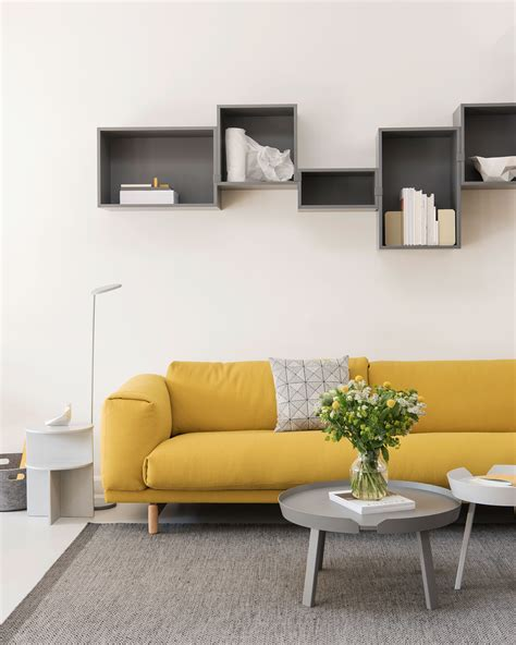 Colorful Living Room Inspiration With The Yellow Sofa