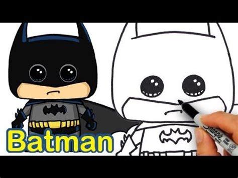 draw batman cute  easy batman drawing cute