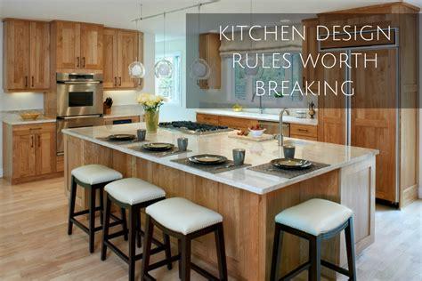 kitchen design rules worth breaking denver interior