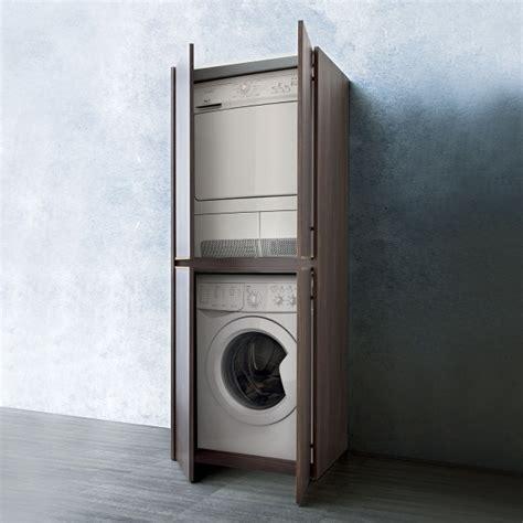 four cuisine encastrable un mobile per nascondere lavatrice e asciugatrice