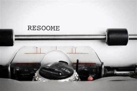 avoid these resume mistakes careerbuilder