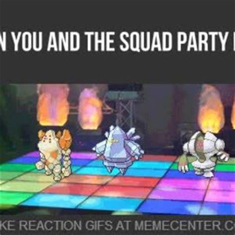 Dance Party Meme - 3rd gen dance party by slyck meme center