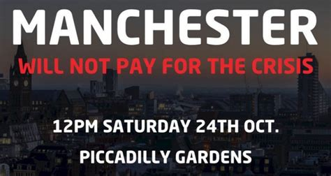 LIVE BLOG: Protest organised by Manchester People's ...