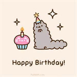 pusheen cat birthday pusheen the cat on quot happy birthday to my