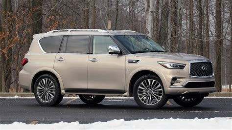 Review Infiniti Qx80 by 2018 Infiniti Qx80 4wd Review Motor1 Photos