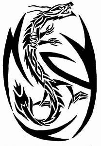 tribal dragon by chinese-ranger on DeviantArt