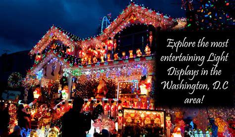 washington dc christmas lights best holiday light displays near washington d c