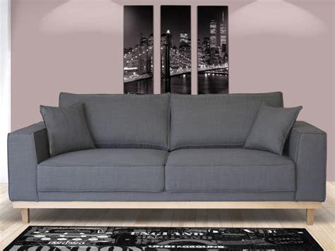site vente canapé canapé 2 ou 3 places en tissu lionel gris