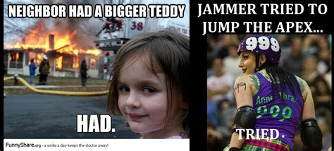 Roller Derby Meme - talk derby to me roller derby memes had to be done