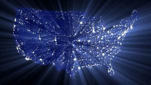 Usa At Night Stock Footage Video | Getty Images