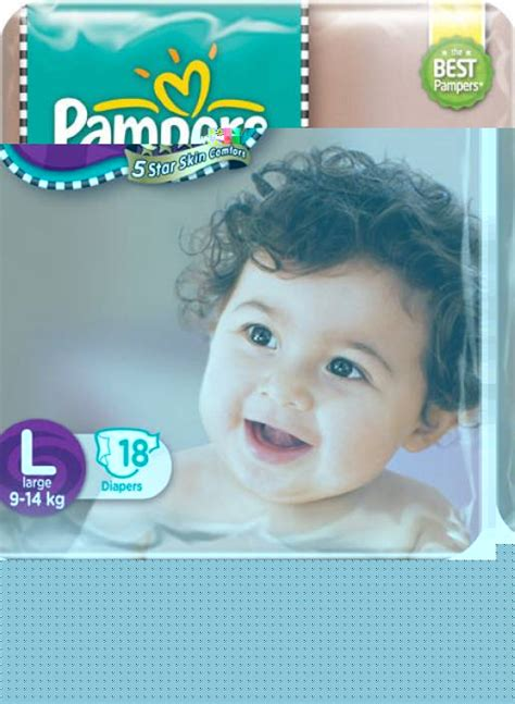 Pampers Active Baby Diapers Taped Large Size Buy 18