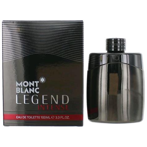 mont blanc legend by mont blanc 3 3 oz eau de toilette spray for