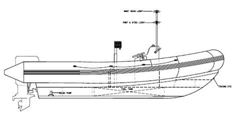 Rib Boat Plans by Boat Design And Marine Consultancy Rigid Boat