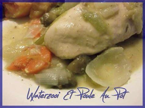 recette poule au pot a la creme recettes de cr 232 mes de waterzooi et poule au pot