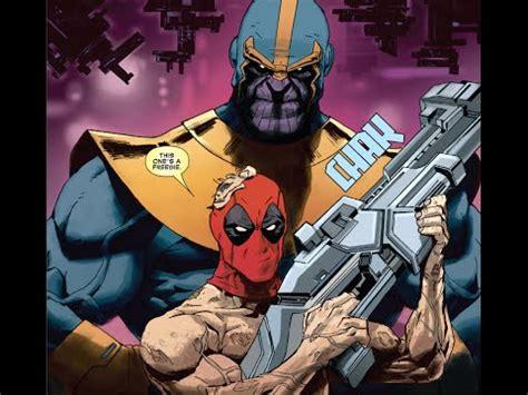Deadpool Vs Thanos Part 1 The Team Up Youtube