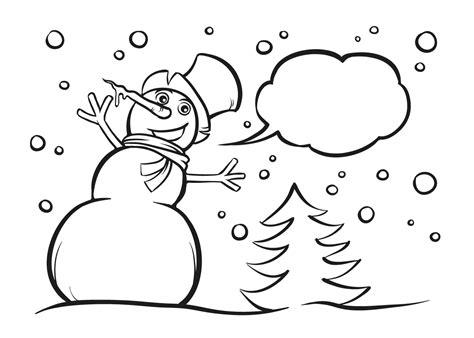 Sneeuwman Kleurplaat Simpel by Kleurplaat Sneeuwpop 24 Gratis Sneeuwpop Kleurplaten