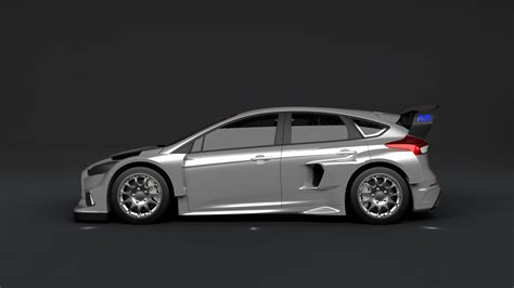 2016 Ford Focus Rs Rallycross Car Confirmed, Here Are The