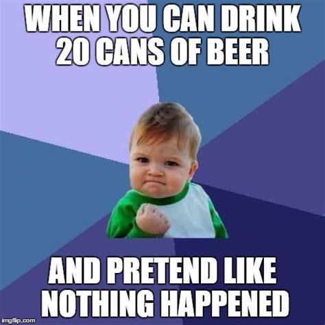 Kid Drinking Beer Meme - success kid meme imgflip