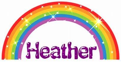 Rainbow Glitter Heather Arc Ciel Anglais Animated