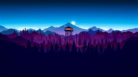 Firewatch 4K wallpapers for your desktop or mobile screen ...