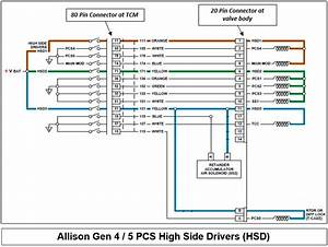 Allison Shifter Wiring Diagram
