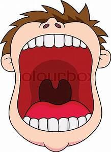 Open mouth | Stock Vector | Colourbox