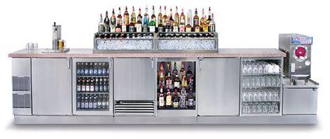 Glastender Bar Refrigeration