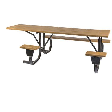 picnic table frame kit ada frame kit for 8 ft picnic table side access welded