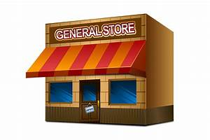 General store clipart - Clipground