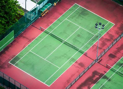 tennis court stock photo image  outdoor tennis