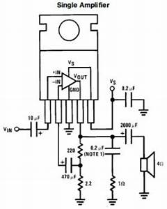 7w mini audio amplifier circuit based lm383 audio With images mini audio compressor schematic mini audio compressor schematic