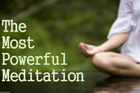The Most Powerful Meditation You Can Do! ( Connect With