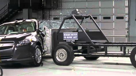 crash test si鑒e auto crash test 2013 chevrolet malibu eco side impact iihs