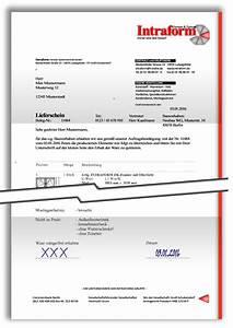 Muster Lieferschein : intraform fenster systemtechnik gmbh anlieferung ~ Themetempest.com Abrechnung