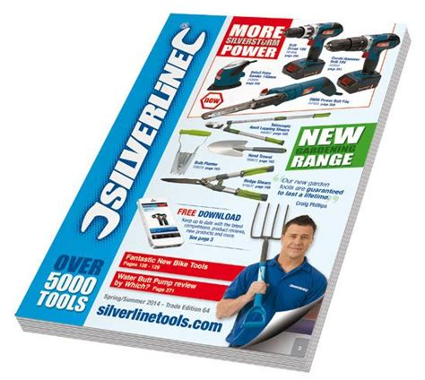 silverline  catalogue news