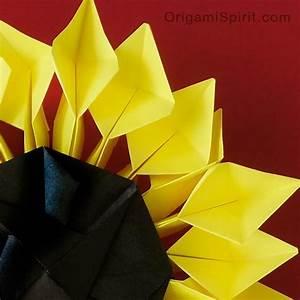 Origami Sunflower 2