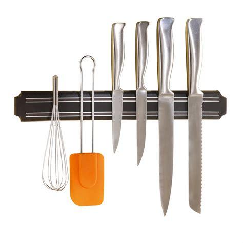 barre magn ique cuisine barre magnétique porte couteaux 38 cm