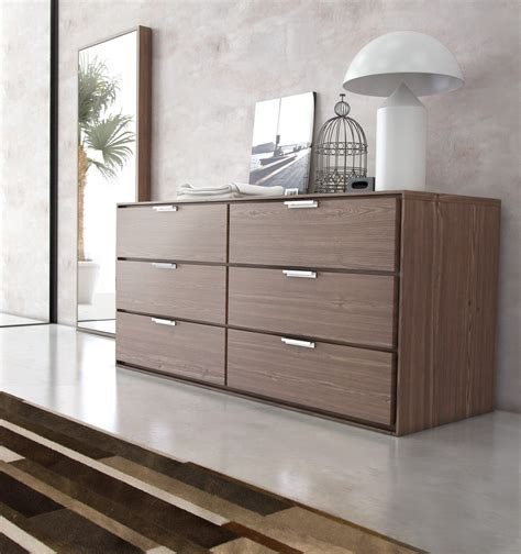 nice plywood  drawer modern dresser  chrome pull