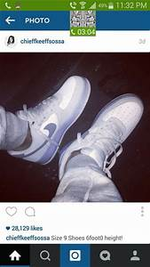 Shoes: chief keef, white shoes, flourescent, nike shoes ...