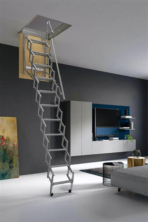escalier escamotable accord 233 on et en ciseau pour grenier et combles
