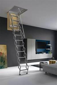 Escalier Escamotable Grenier : escalier escamotable accord on et en ciseau pour grenier ~ Melissatoandfro.com Idées de Décoration