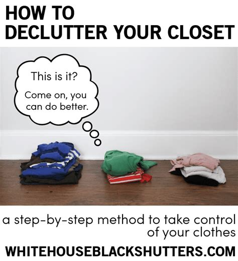 How To Declutter Closet by How To Declutter Your Closet White House Black Shutters