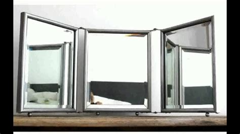 folding mirrors  bathroom  web