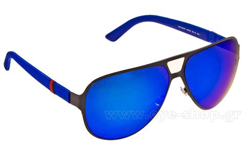 gucci gg 2252s r63z0 62 sunglasses men eyeshop