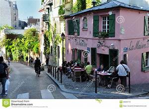 Tourist, At, Montmarte, Paris, France, Editorial, Stock, Photo