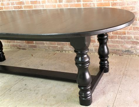 oval table with end extensions large georgian oval trestle table with extensions 7252