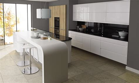 modern home layouts remo gloss white contemporary kitchen